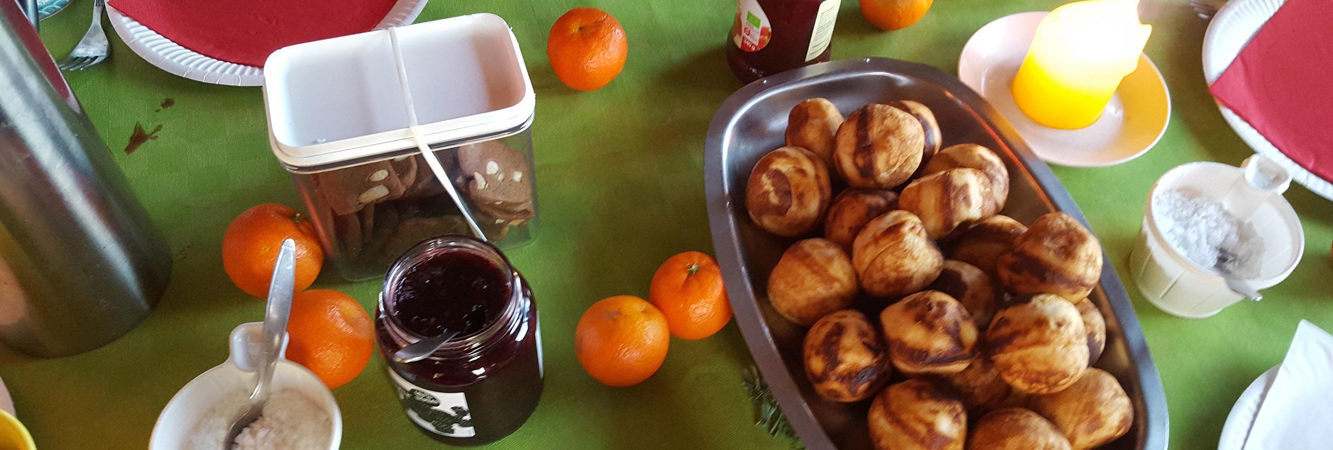 Julehygge med æbleskiver Foto: Bendixen